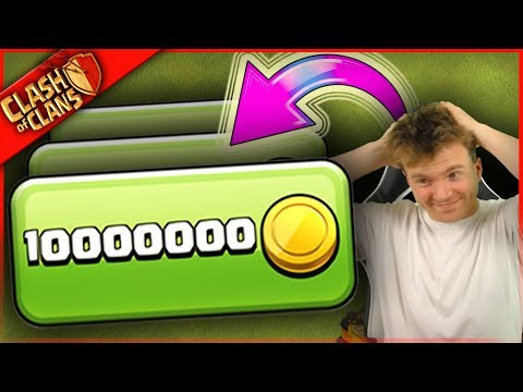 10,000,000 GOLD AGAIN? + Clash of Clans = 2 EXPENSIVE