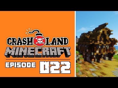 Dockside slums  - Crashland - Minecraft 1.10 Vanilla - E22