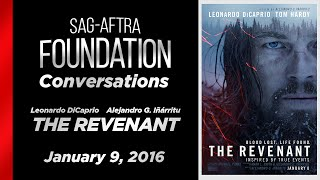 Conversations with  Leonardo DiCaprio and Alejandro Iñárritu of THE REVENANT