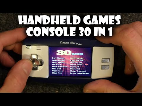 30 in 1 Handheld Games Console Review