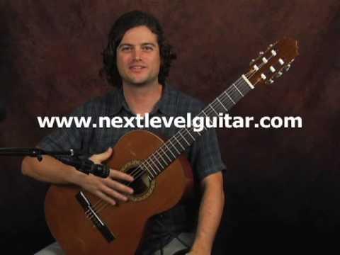 Flamenco classical guitar lesson on...