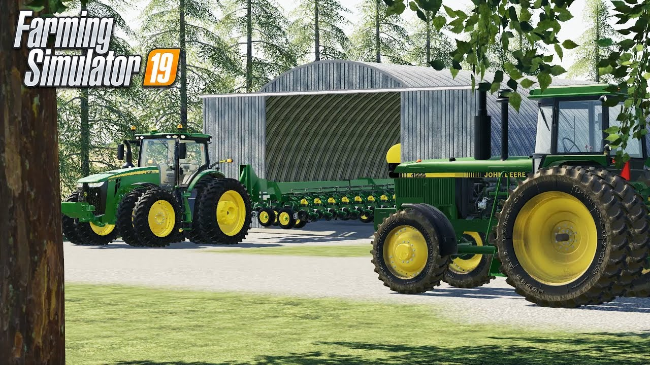 FS19- THE RETURN OF THE DEERES! PICKING OUT EQUIPMENT FOR