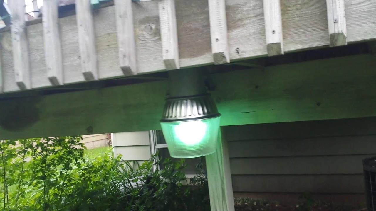 Mercury vapor bucket light on my patio youtube mercury vapor bucket light on my patio arubaitofo Gallery