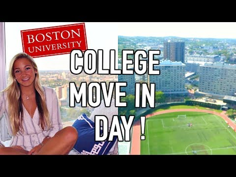MOVE IN DAY: BOSTON UNIVERSITY JUNIOR YEAR (VLOG)!