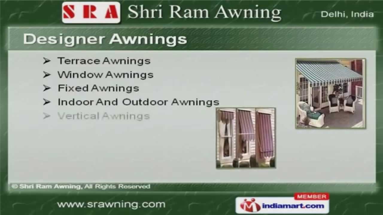 Designer Awnings By Shri Ram Awning, Delhi