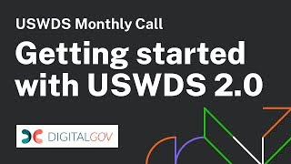 Getting started with USWDS 2.0