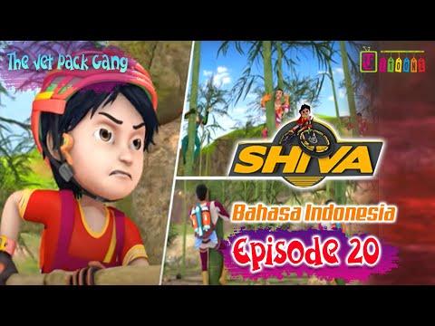 SHIVA FULL EPISODE 20 - THE JET PACK GANG | ANIMASI SHIVA | ANIMASI ITOONZ!!
