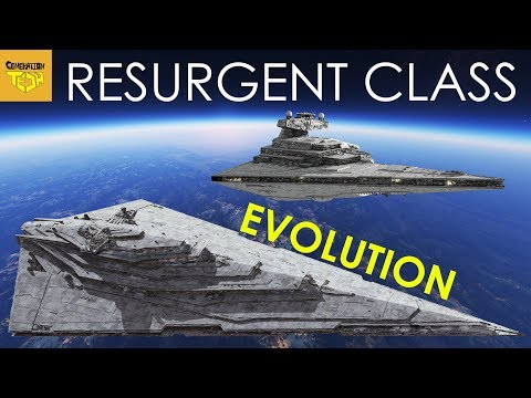 How Resurgent Class Star Destroyer EVOLVED from the Imperial Class
