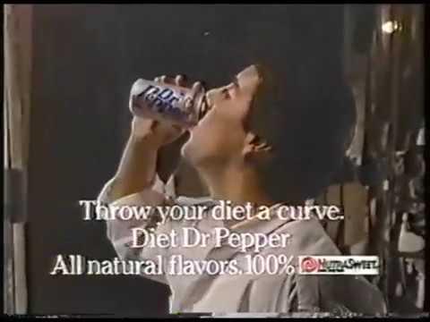 David Naughton 1988 Diet Dr. Pepper Commercial