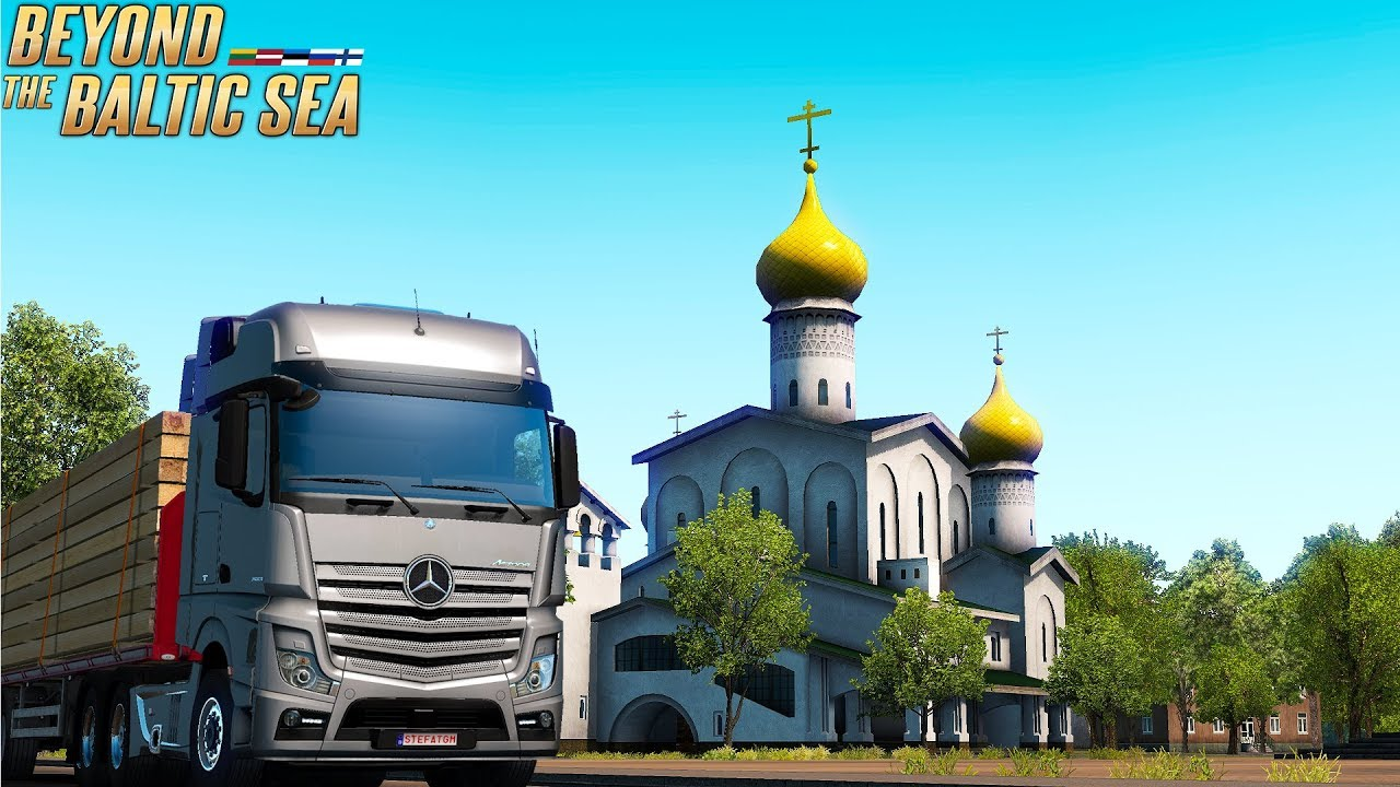 euro truck simulator 2 beyond the baltic sea exploring. Black Bedroom Furniture Sets. Home Design Ideas