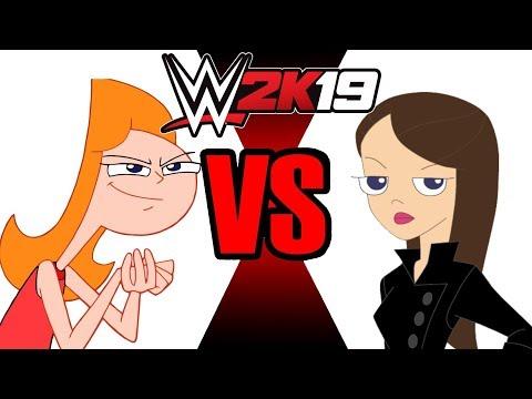 Candace Flynn Vs Vanessa Doofenshmirtz (requested) | WWE 2K19