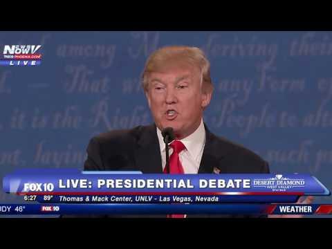 Final Presidential Debate - Immigration Topic- FNN