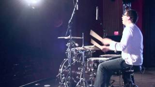 "Kristian Stanfill ""Always"" drum cover by Jesse Moore . Filmed by Emily."