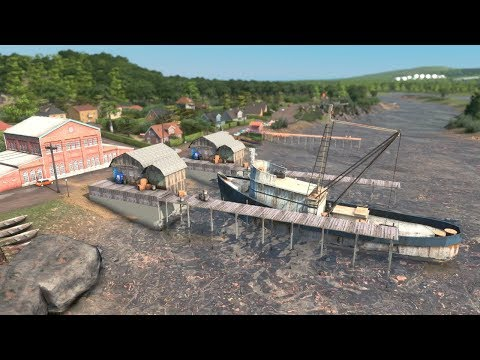BUILDING A Fishing Village | Cities Skylines