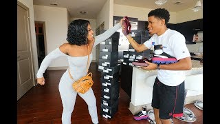failzoom.com - SELLING ALL OF DE'ARRA SHOES PRANK!!! (GONE WRONG)