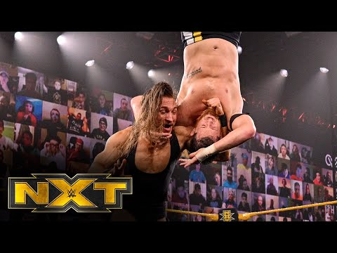 O'Reilly vs. Dunne – Winner challenges Finn Bálor at New Year's Evil: WWE NXT, Dec. 16, 2020