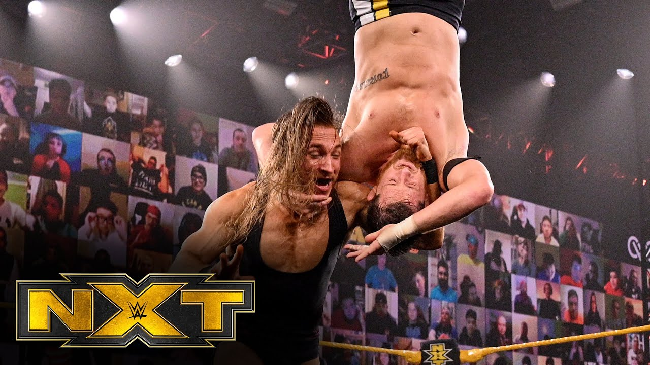 O'Reilly vs. Dunne – Winner challenges Finn Bálor at New Year's Evil: WWE NXT, Dec. 16, 2020