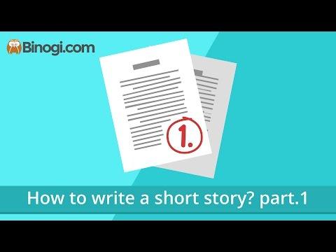 How to write a short story? part.1 (English) - Binogi