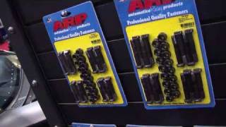 2010 SEMA V8TV Video Coverage: ARP Fasteners for GM LSX, Ford Mod, and Mopar Late Model Engines