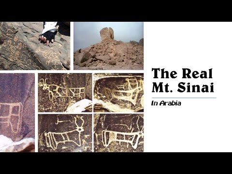 THE REAL MT. SINAI/(SYNY), IN ARABIA