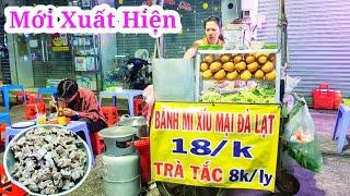 Xuất hiện bánh mì xíu mại Đà Lạt lạ miệng bán giờ linh ở Sài Gòn