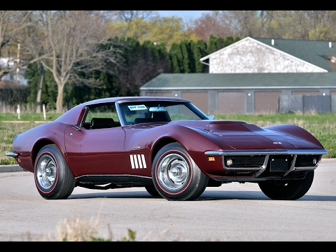 1969 Chevrolet Corvette 427 Coupe-Manufactured by Chevrolet (General Motors)
