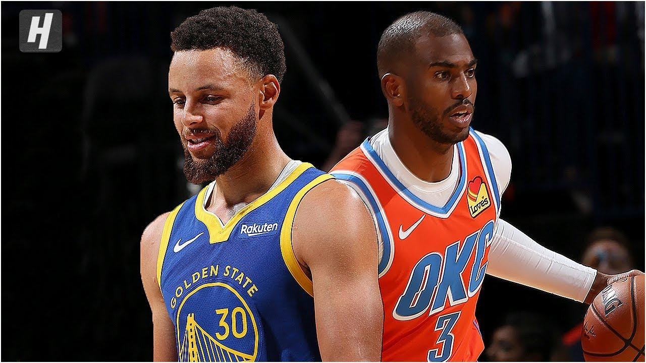 Golden State Warriors Vs Oklahoma City Thunder Full Game Highlights October 27 2019 Nba Season Youtube