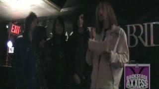 BackstageAxxess interviews Black Veil Brides.