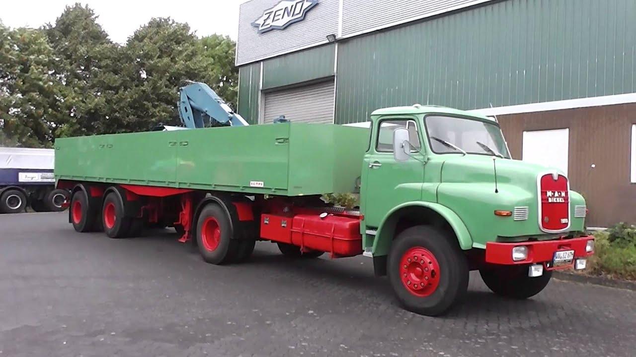 Diesel Pickup Trucks >> MAN Diesel 13230 truck in HD - YouTube