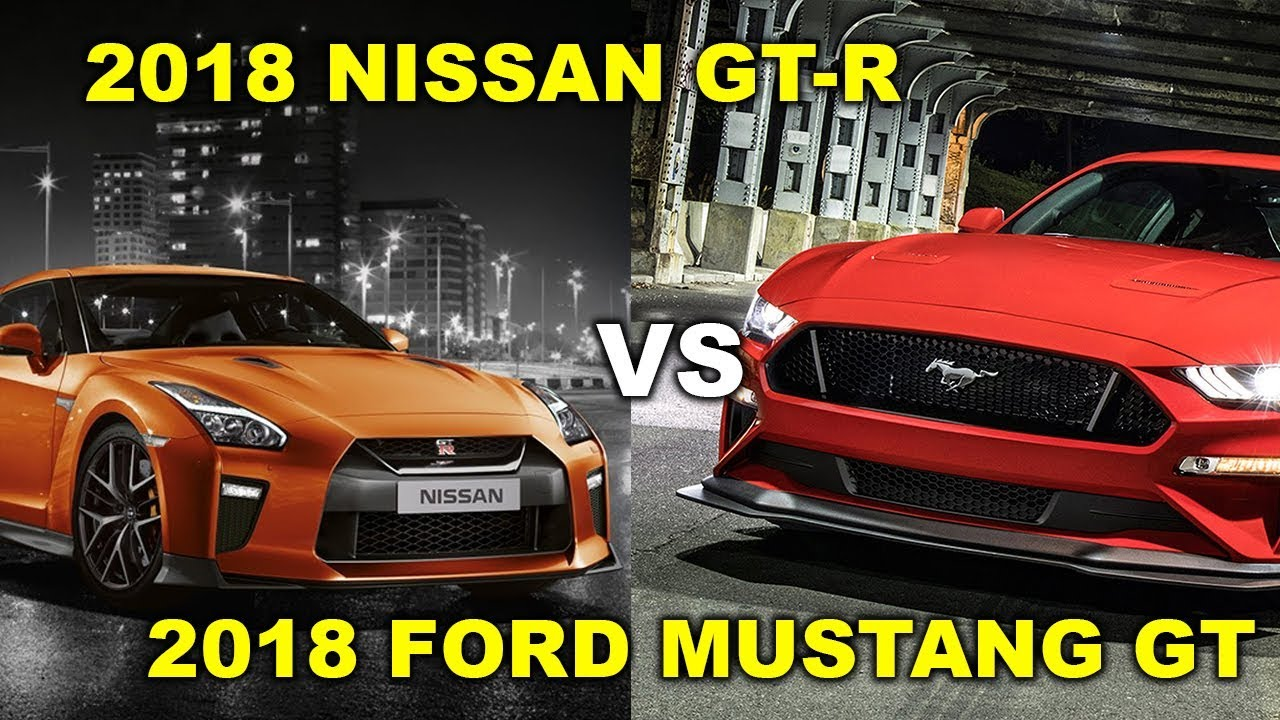 Nissan gt r vs ford mustang gt