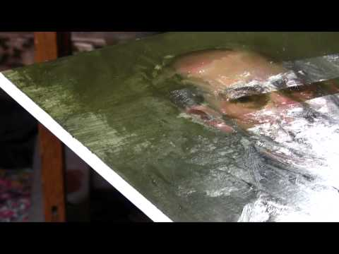 Old Masters Maroger - How to Varnish with Mastic Varnish