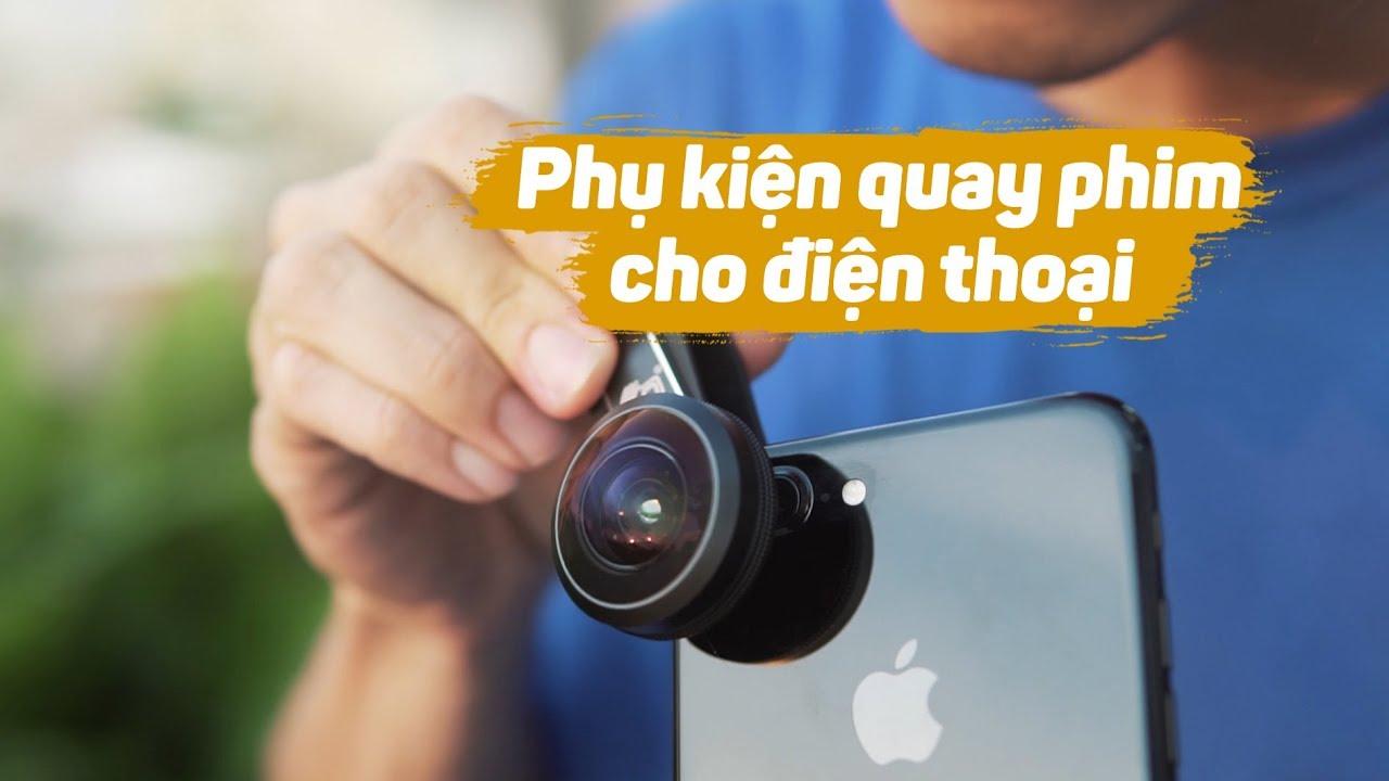Phụ kiện quay phim cho điện thoại nên có // Gimbal - Lens - Tripod...