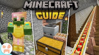 MINECART UNLOADERS, RAILS, & DUNGEONS! | The Minecraft Guide - Tutorial Lets Play (Ep. 26)