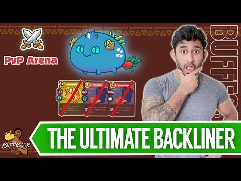 The Disablesaurus - The Perfect Backliner In Axie Arena? l Axie Infinity