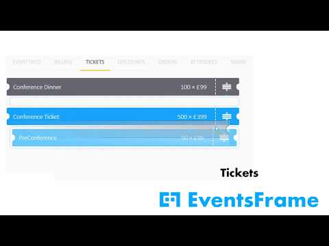 EventsFrame Features