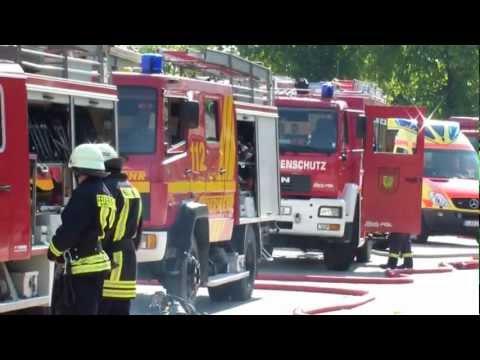 Katastrophenschutzübung des Vogtlandkreis 2011
