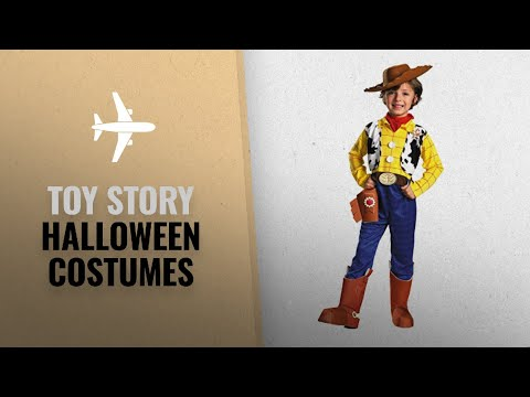 Top 10 Toy Story Halloween Costumes [2018]: Woody Deluxe Child - Size: 3T-4T
