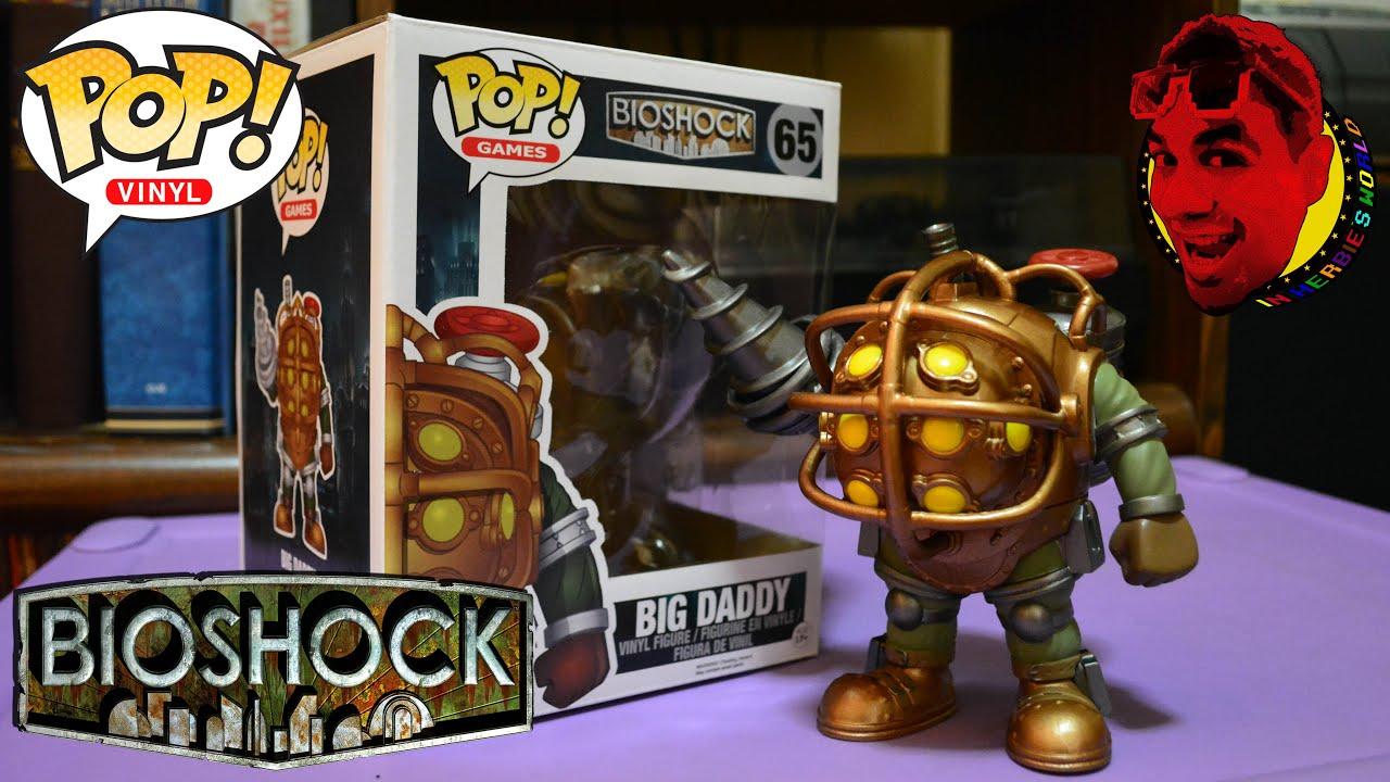 Funko Pop Games Bioshock S Big Daddy Unboxing 65