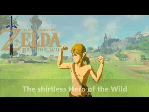 Funny Link Zelda Memes : The legend of zelda botw shirtless hero nesis meme youtube