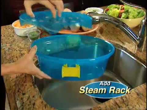Pasta N More 5 Piece Microwave Pot Cooker As Seen On Tv Youtube