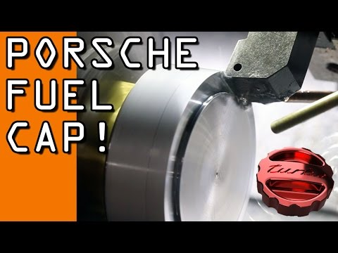 Machining a Custom Porsche Turbo Fuel Cap!  Widget104