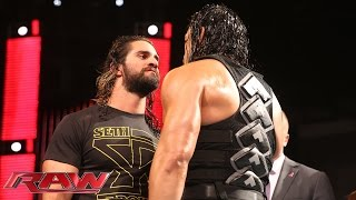 Roman Reigns defies The Authority: Raw, October 26, 2015