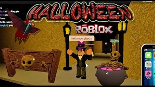 "Roblox - RoCitizens Halloween Event [""Glitch"" Break into the Haunted Floating House]"