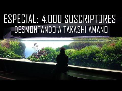 Desmontando a Takashi Amano (ESPECIAL 4.000 SUSCRIPTORES)