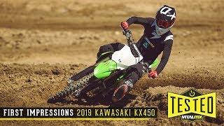 First Impressions: 2019 Kawasaki KX450