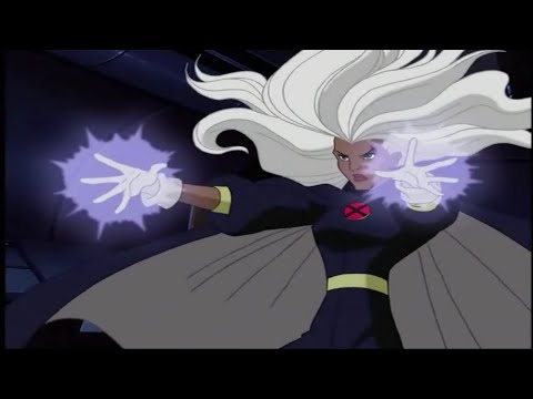 Storm - All Powers & Fights Scenes #1 [X-Men Evolution] (Animated)