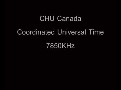 CHU Canada - Coordinated Universal Time Signal - 7850KHz