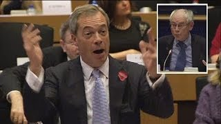 Farage: You can stop these dark forces, Mr Van Rompuy