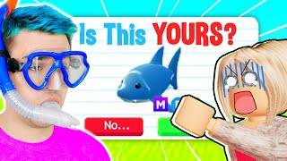 *HONESTY TEST* Is This MEGA SHARK Yours?! Annoying *KAREN* SCAMS ME (LIARS EXPOSED!) Adopt Me Roblox