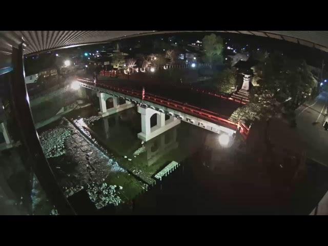 【LIVE CAMERA】飛騨高山ライブカメラ 中橋/Hida-Takayama  Naka-Bashi Bridge